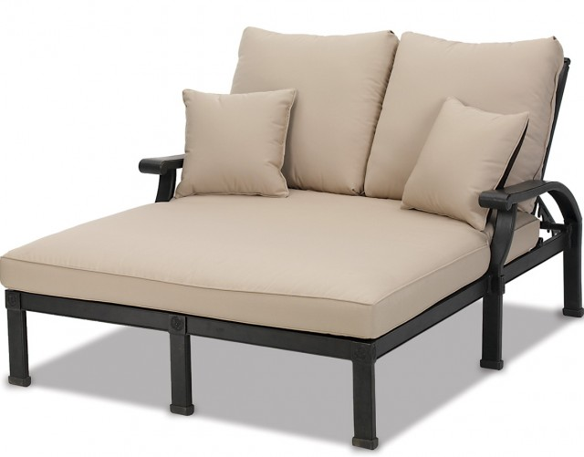 Double Chaise Lounge Outdoor
