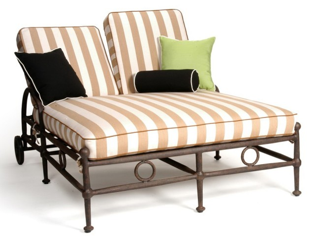 Double Chaise Lounge Cushion Cover Home Design Ideas