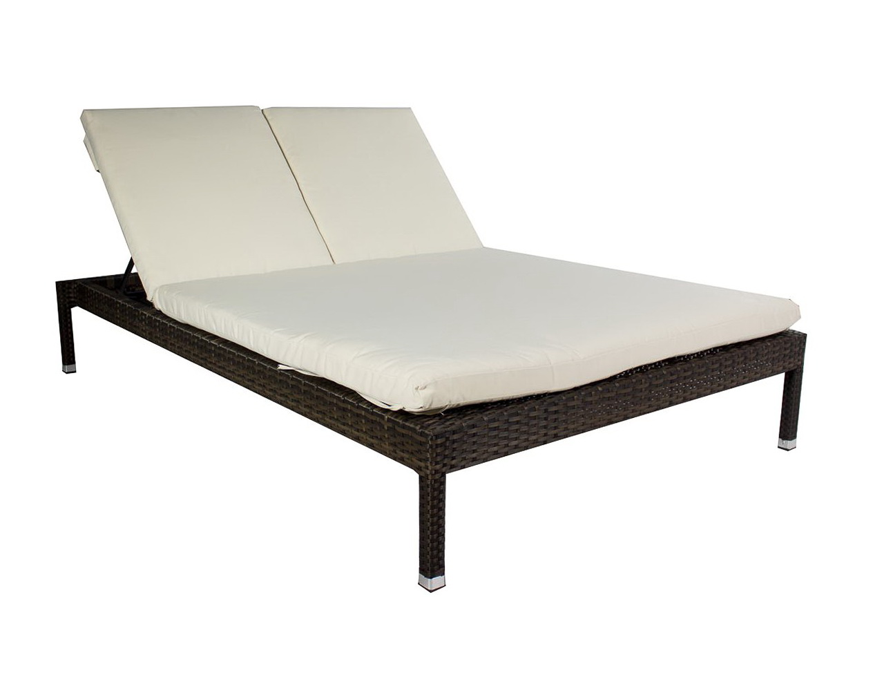 double chaise lounge outdoor teak wood furniture 24 ideas for the terrace home dezign costco. Black Bedroom Furniture Sets. Home Design Ideas