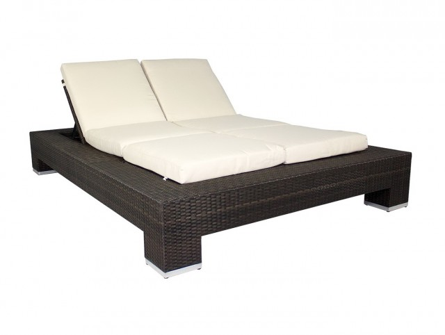 Double Chaise Lounge Outdoor Walmart