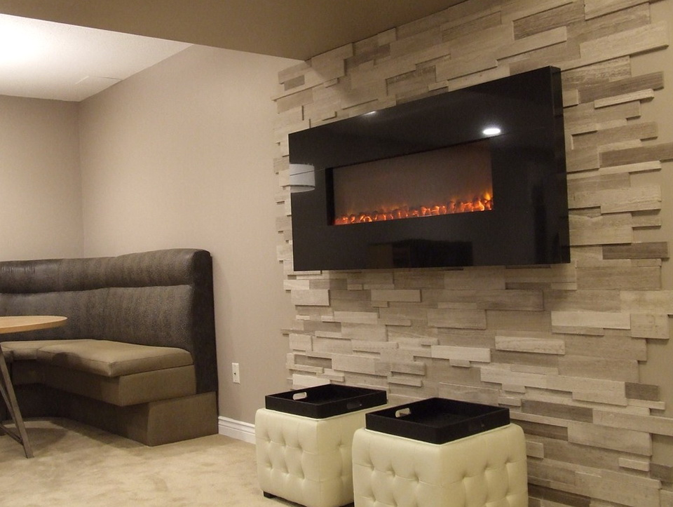 Electric Fireplace Ideas For Basement | Home Design Ideas