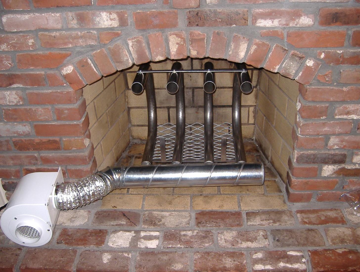 Fan For Open Fireplace Home Design Ideas