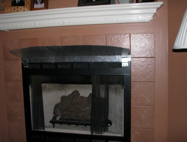 Fireplace Heat Shield Hood Home Design Ideas