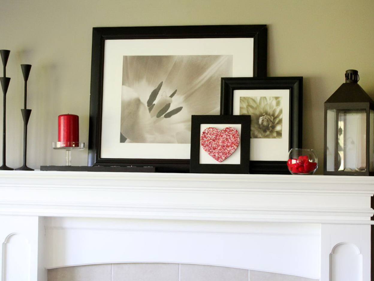 Fireplace mantel decorating ideas for everyday home for Decoration designs