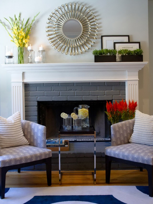 Fireplace Mantel Decorating Ideas Pinterest