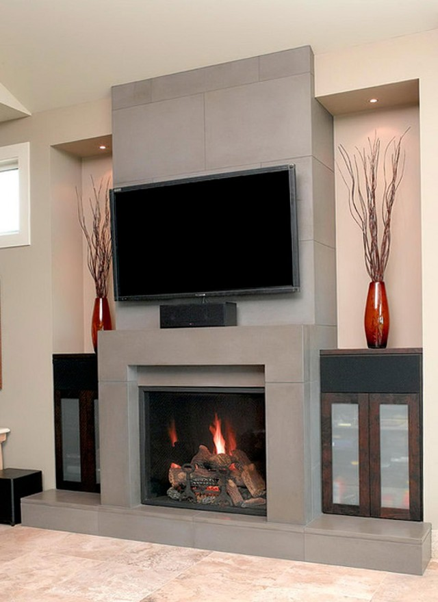 Fireplace Mantel Decorating Ideas For Everyday Home