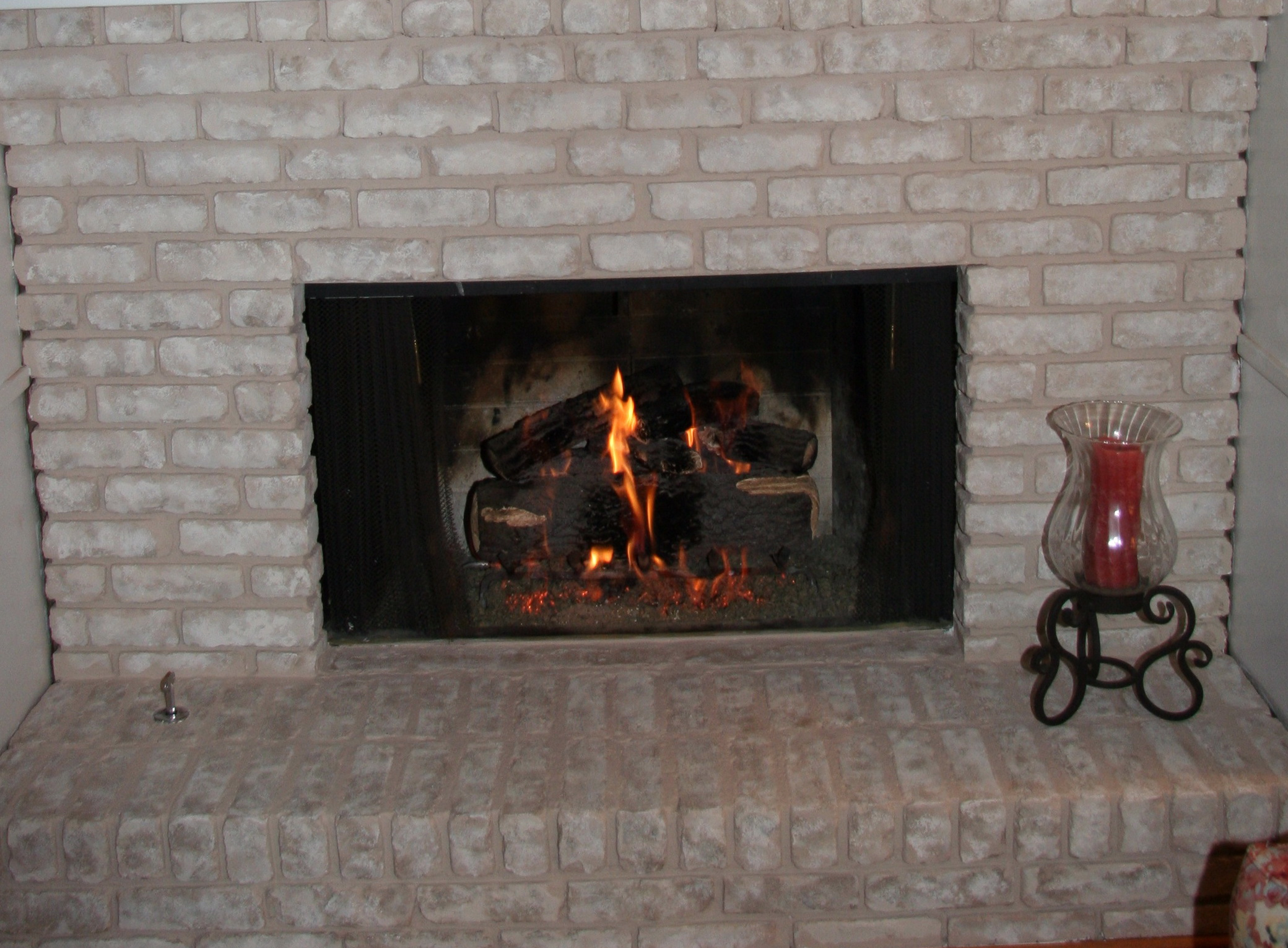 Fireplace Mesh Curtain Lowes | Home Design Ideas