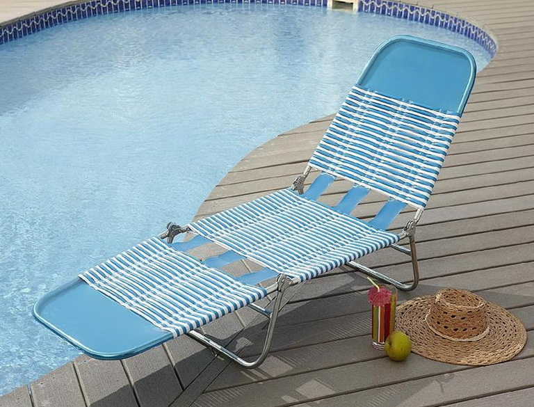 Folding Chaise Lounge Chair Walmart Home Design Ideas
