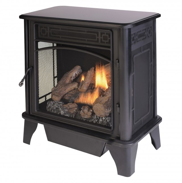Free Standing Propane Fireplace Vent Free