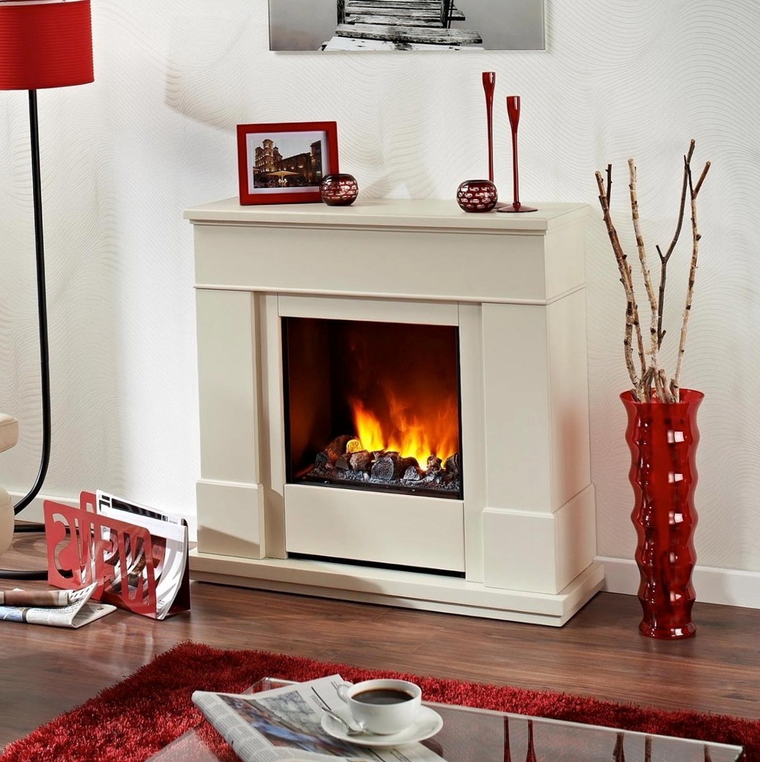 Freestanding Electric Fireplace Heaters   Home Design Ideas