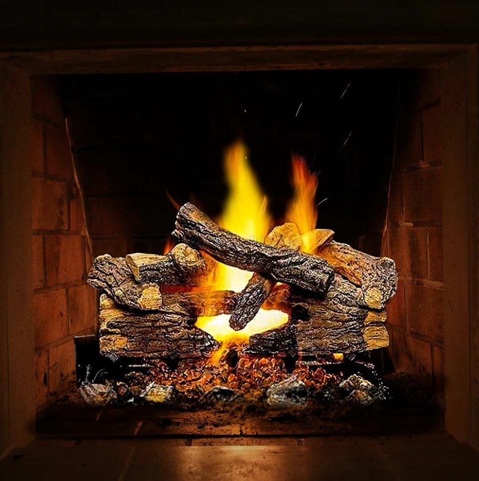 Gas Fireplace Lava Rocks Embers | Home Design Ideas