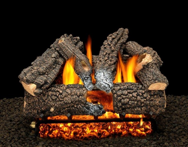 Vented Gas Fireplace Logs Reviews Home Design Ideas