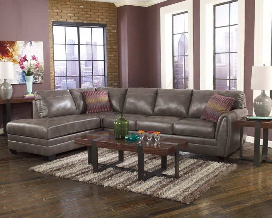 grey leather sectional with chaise home design ideas