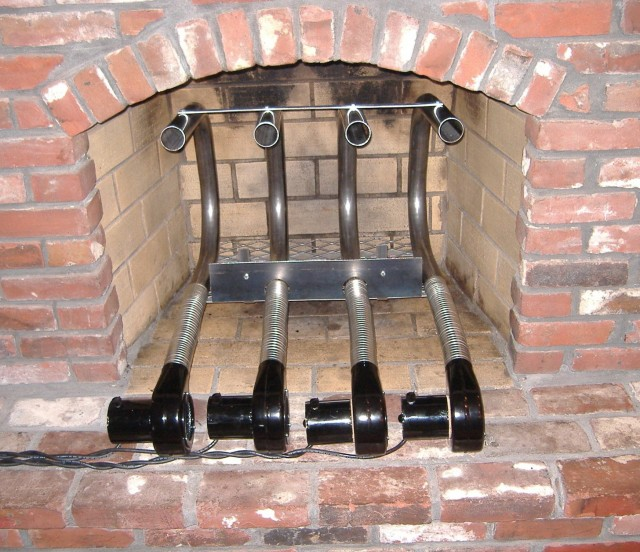 Fireplace Log Grate With Blower Home Design Ideas
