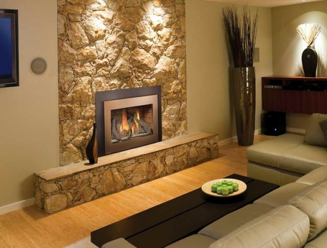 Install Gas Fireplace In Basement Home Design Ideas