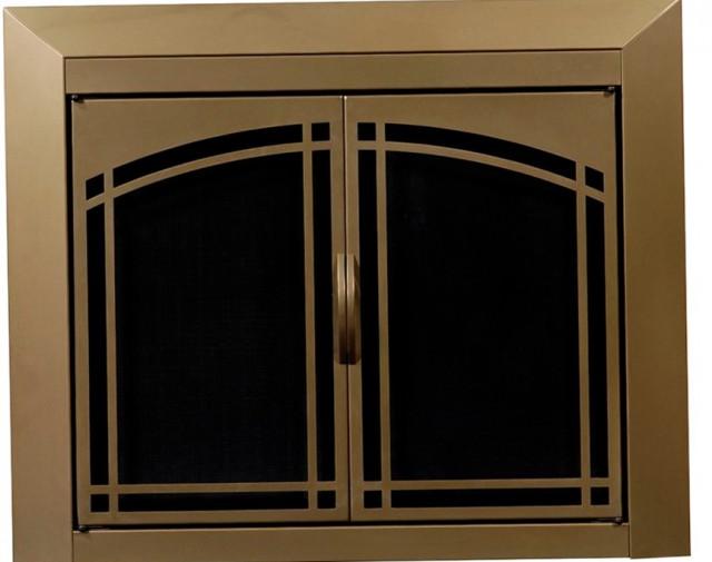Installing Fireplace Glass Doors Home Design Ideas