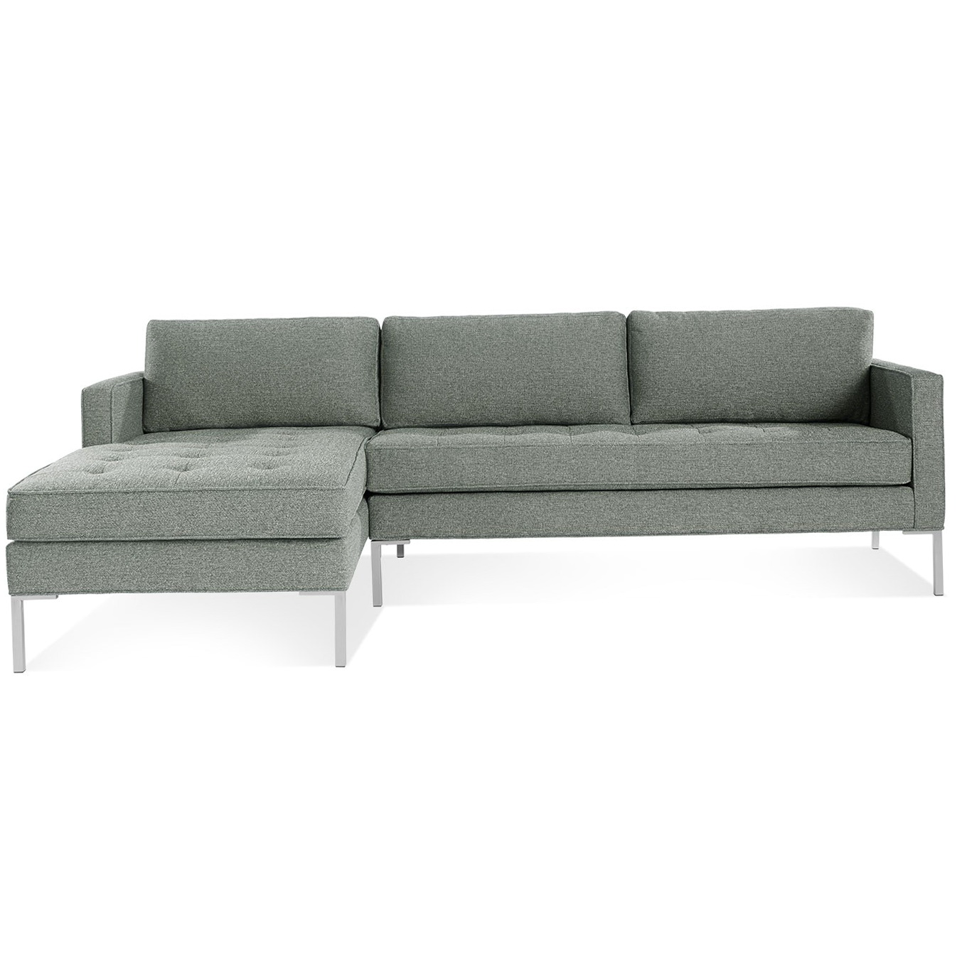 loveseat with chaise right home design ideas