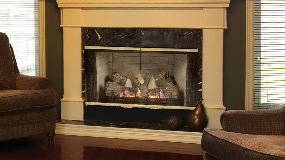 Majestic Fireplace Doors Replacement | Home Design Ideas