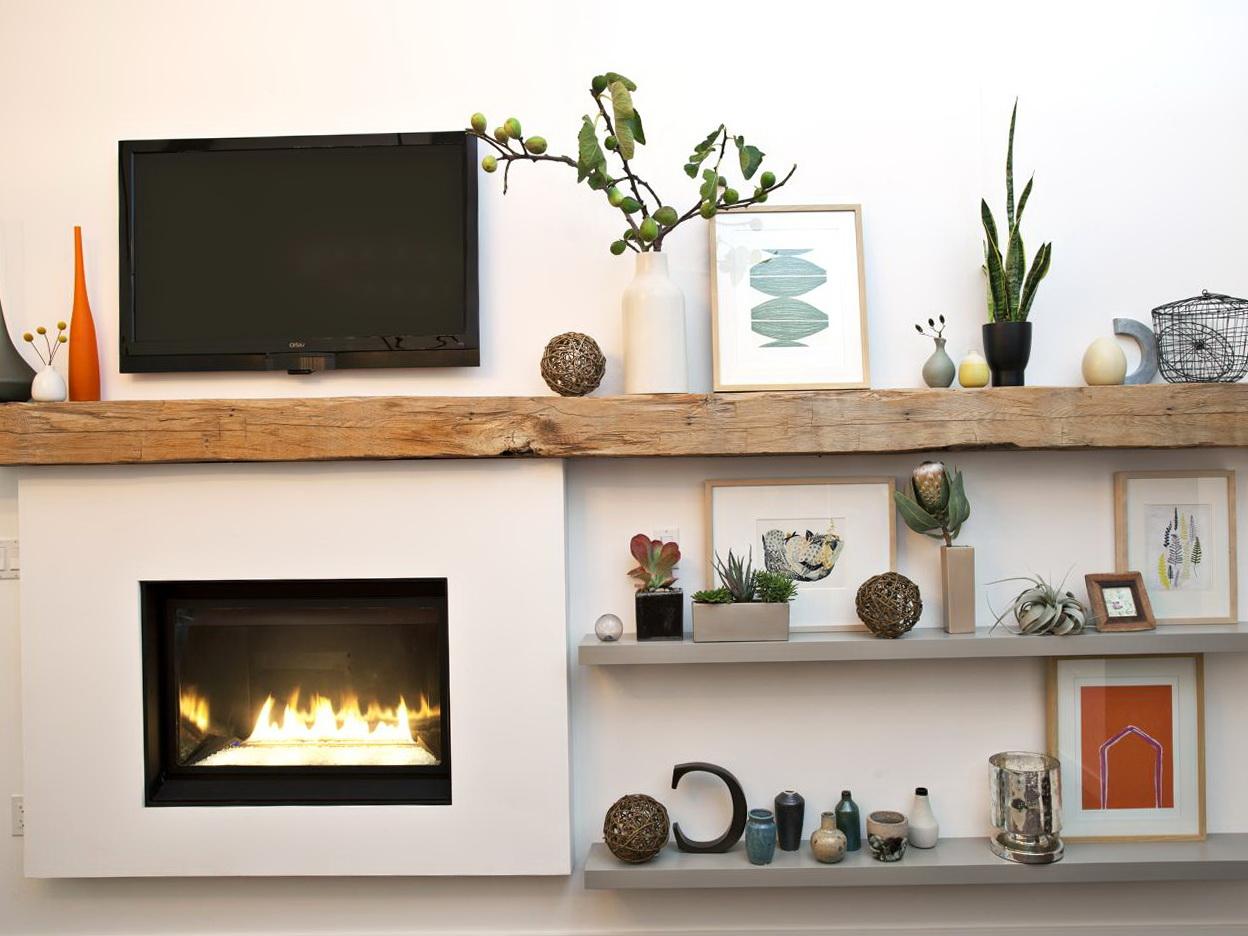 Brick Fireplace Mantel Modern Brick Fireplace Mantels Home Design Ideas