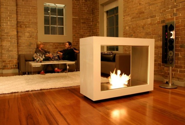 modern electric fireplace - Free Standing Electric Fireplace