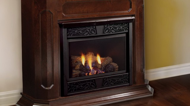 Natural Gas Fireplace Venting Options