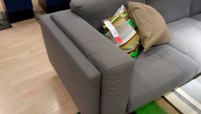 Nockeby Loveseat With Chaise