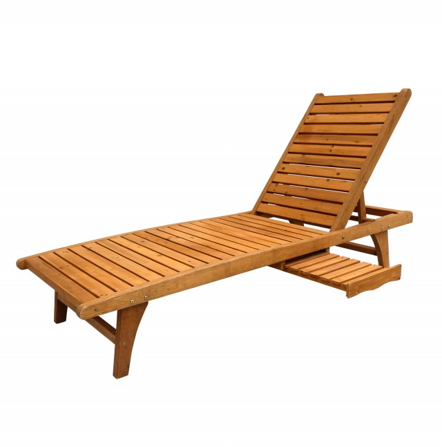Outdoor Chaise Lounge Teak