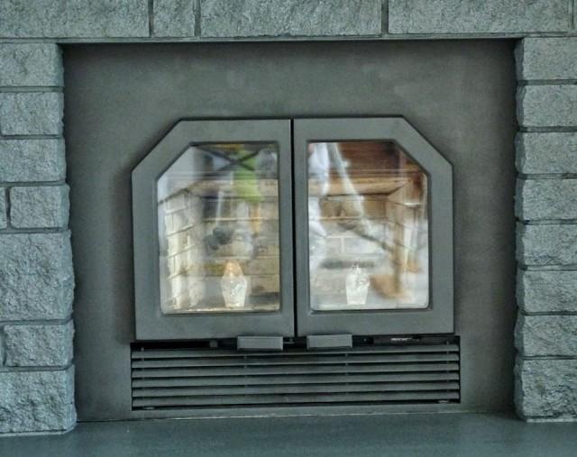 Painting Fireplace Doors Video