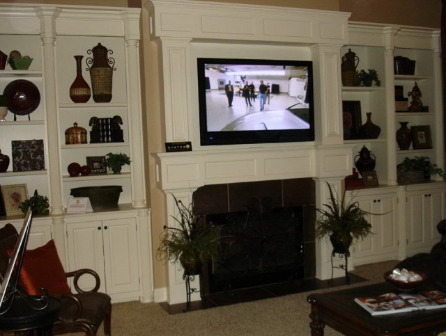 Pics Of Tv Mounted Above Fireplace