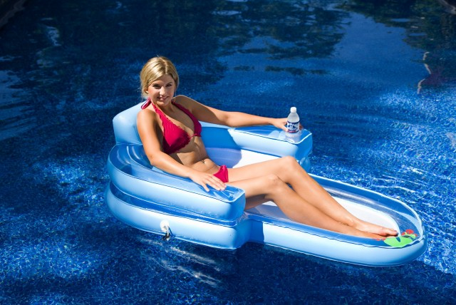 Pool Chaise Lounge Float