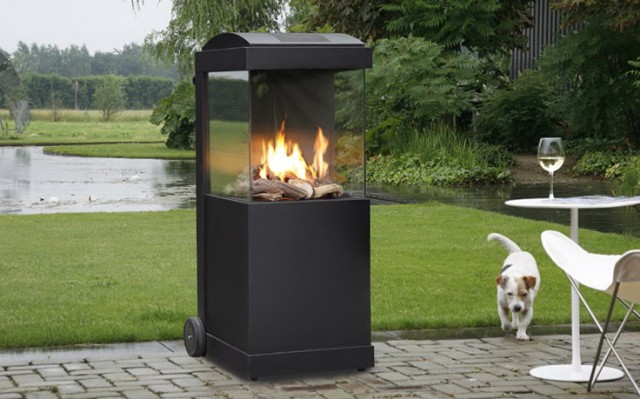 Portable Gas Fireplace Ventless Home Design Ideas