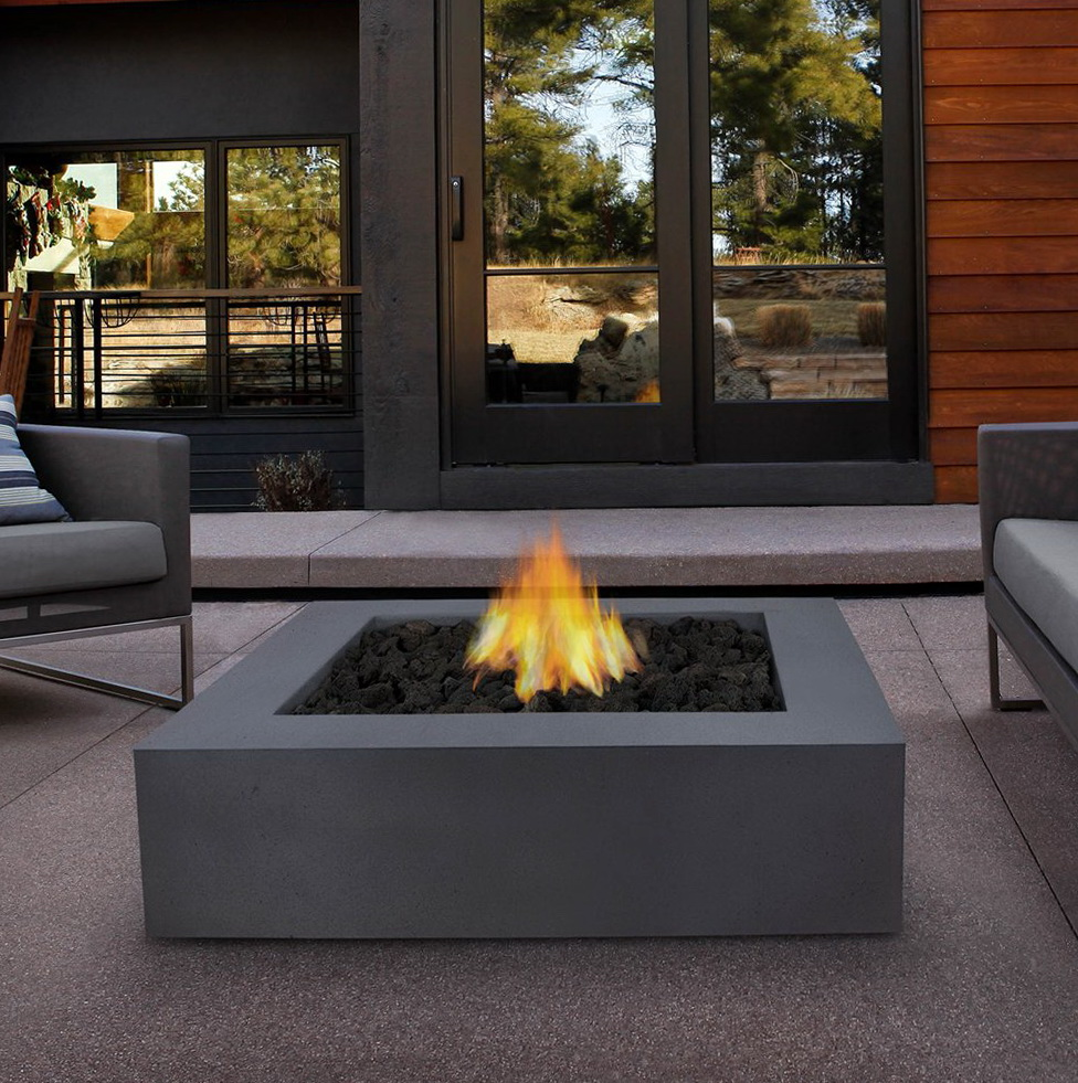 Propane Outdoor Fireplace Canada Home Design Ideas