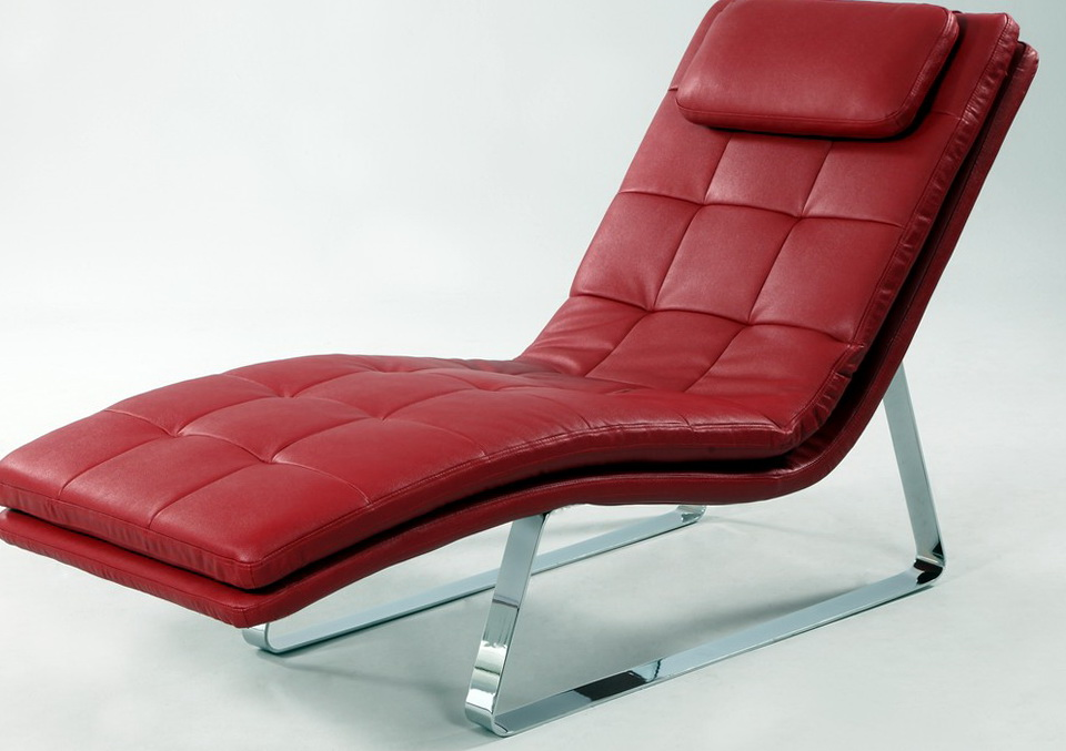 red chaise lounge chair home design ideas