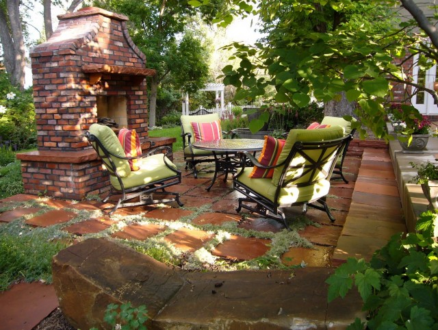 Rustic Outdoor Fireplace Ideas