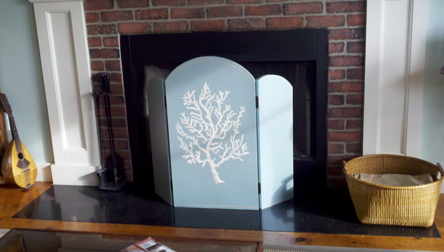 Silver Fireplace Doors : Silver and white fireplace screens home design ideas