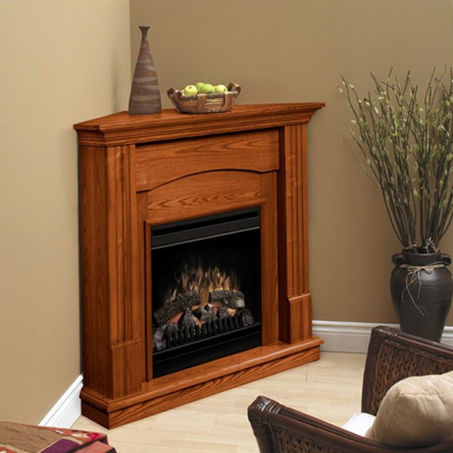 Small Corner Fireplace Electric