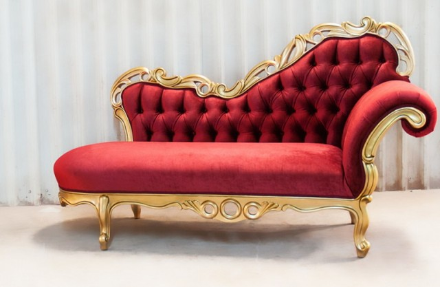 Victorian Chaise Lounge Furniture : chaise lounge victorian - Sectionals, Sofas & Couches