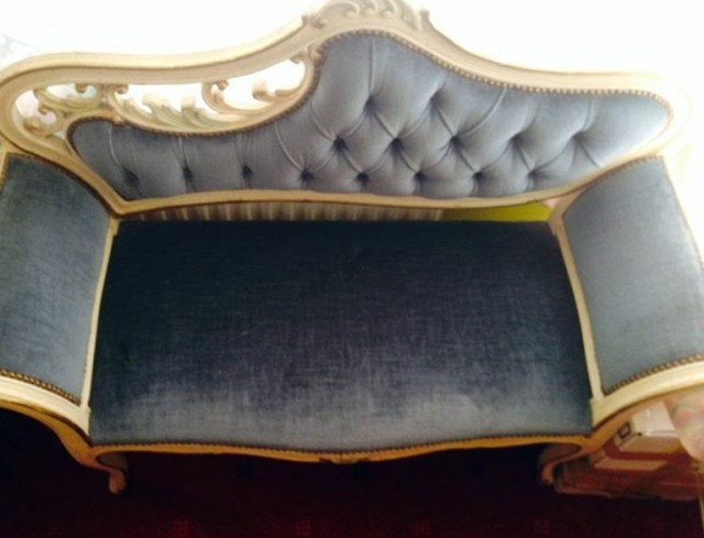 Vintage Chaise Lounge For Sale