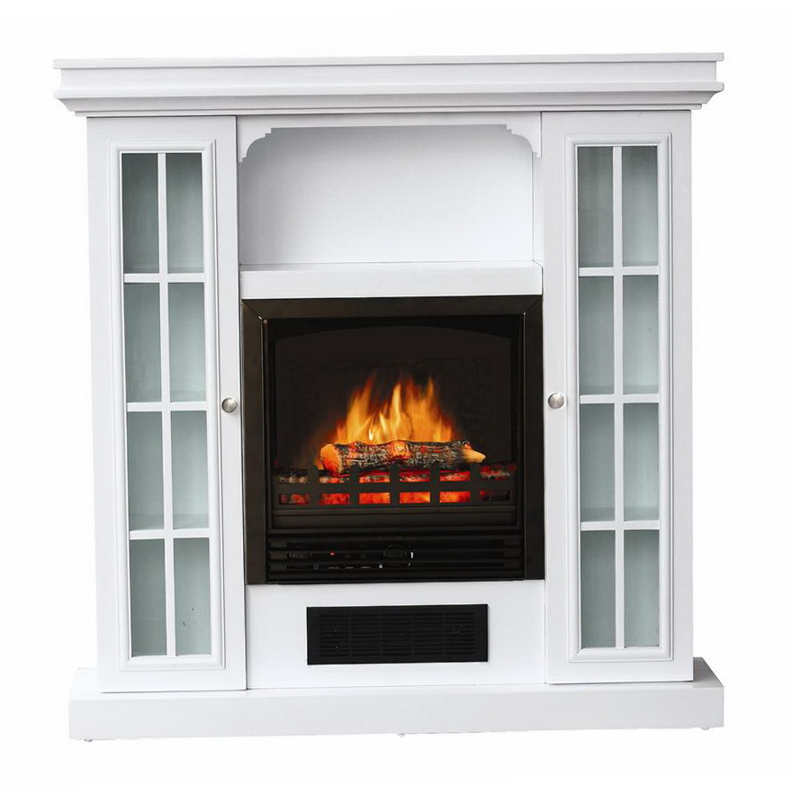 White Electric Fireplace Lowes Home Design Ideas