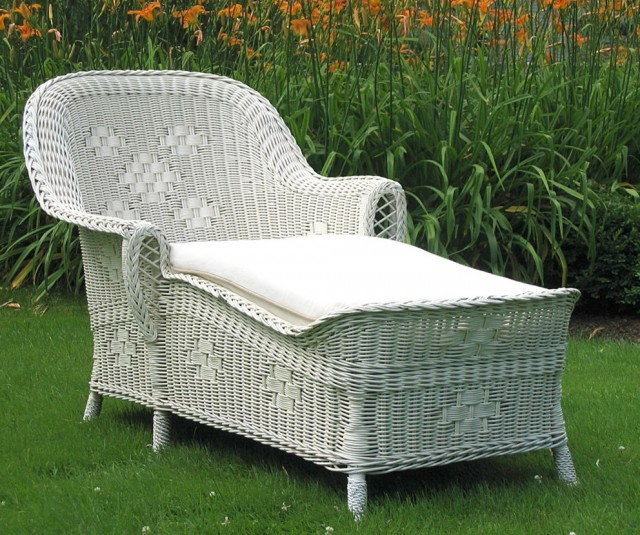 Henry Link Wicker Chaise Lounge Home Design Ideas