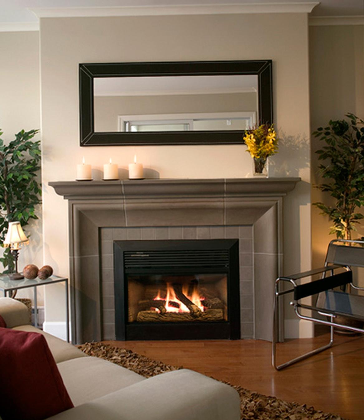 Gas Fireplace Ideas Basement Gas Fireplace Ideas  Home Design Ideas