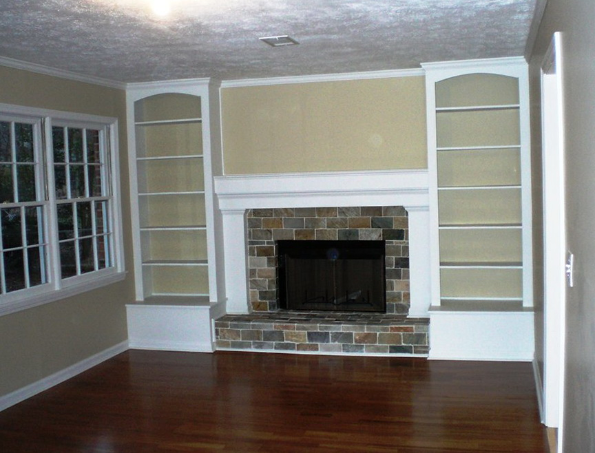 How To Build Living Room Wall Shelving Entertainment Center