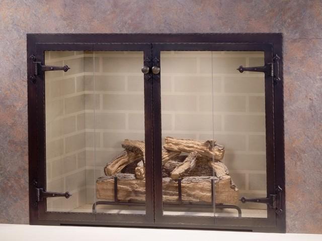 Cast Iron Fireplace Doors : Cast iron fireplace doors home design ideas