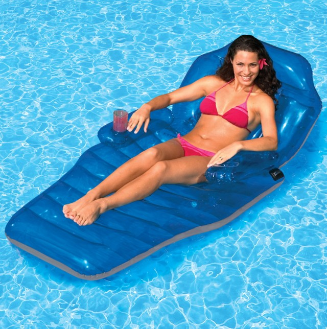 Chaise Lounge Pool Float