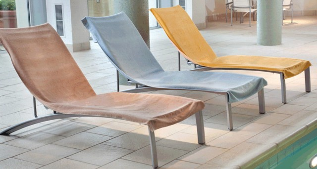 Chaise Lounge Pool Towels