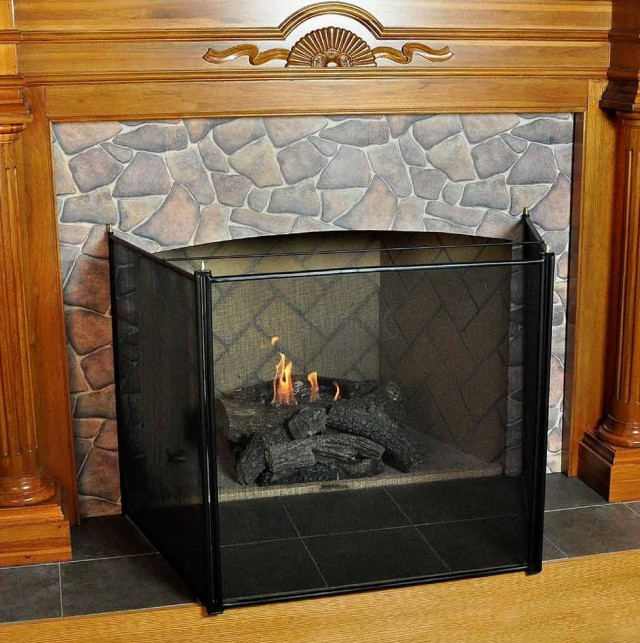 gas fireplace child safety screen home design ideas