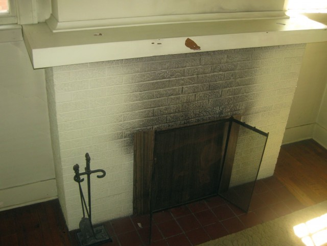 Cleaning Fireplace Glass Door