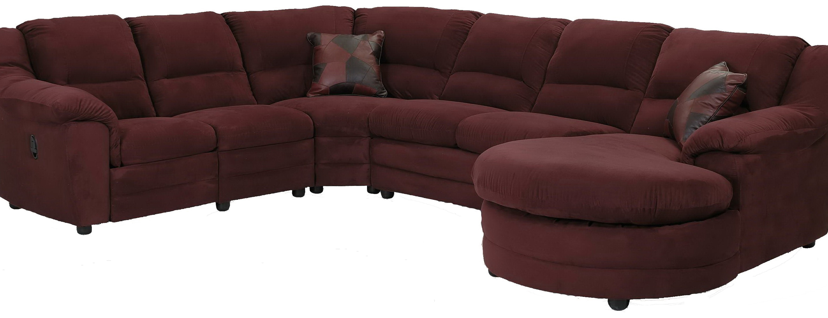 Dagstorp Loveseat And Chaise Lounge