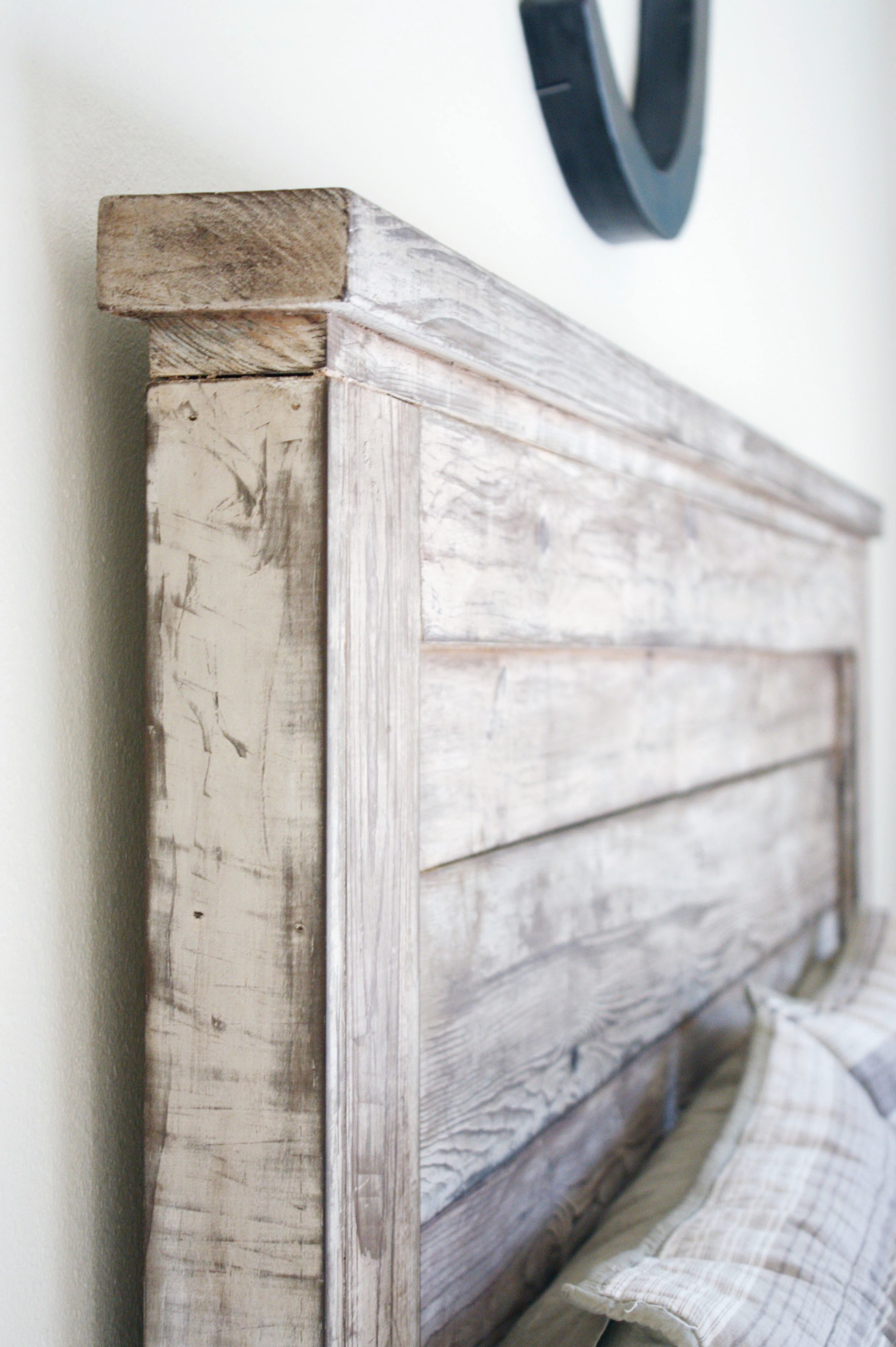 Distressed Wood Headboard King Home Design Ideas