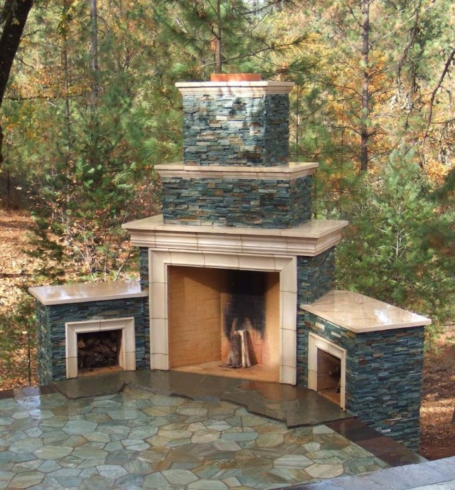 Outdoor stone fireplace designs home design ideas do it yourself outdoor fireplace designs solutioingenieria Images
